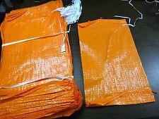 Sandbags 1000 Orange Empty Sandbags  14x26 UV TREATED