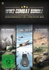 Tank Operations + Storm Over Pacific + Panzers War Europe WW2 Combat Bundle Neuw