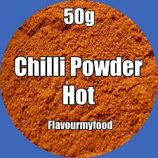 CHILLI POWDER (Hot) 50g Herbs & Spices