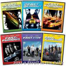 The Fast and & the Furious: Complete Movies 1 2 3 4 5 6 Collection Box/DVD Sets