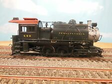 HO NJ CUSTOM BRASS PENNSYLVANIA B8A 0-6-0 LOCOMOTIVE PAINTED