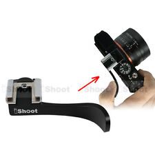 Metal Finger Grip Thumb Button Flash Hot Shoe Mount for Sony Camera RX-1/RX-1R