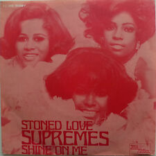 """7"""" 1970 RARE SOUL ! THE SUPREMES : Stoned Love /MINT-?"""