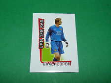 N°361 VAN DER SAR MANCHESTER UTD MERLIN PREMIER LEAGUE FOOTBALL 2007-2008 PANINI
