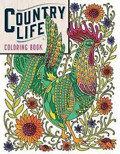 Country Life Coloring Book by Caitlin Keegan (2016, Paperback)