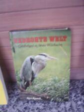 Bedrohte Welt, Großvögel in freier Wildbahn, von Kurt K