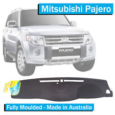 Mitsubishi Pajero (2009-Current) - Dash Mat - Black - Fully Moulded -NT NX NW NS