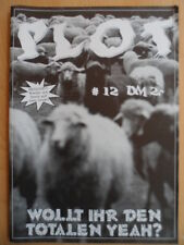 PLOT # 12 * Steel Pole Bath Tub CRANK Wollt Ihr den totalen YEAH? Punk-Fanzine