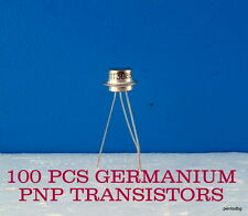 100 GERMANIUM TRANSISTORS 1T308V GT308V/ AF109/ 120MHz MILITARY IN ORIGINAL BOX