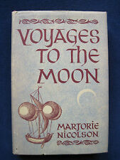 Voyages To the Moon - Speculations of Writing of VERNE, WELLS, POE, CARROLL, etc