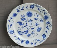 """Old Vintage Blue Onion China Earthenware 9-1/4"""" Luncheon Plate by Japan"""
