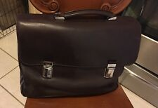 PRADA leather Men's Shoulder Bag Tessuto Vitello Nero Y1733300
