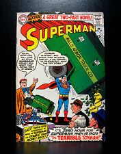 COMICS: DC: Superman #182 (1966), 1st SA Toyman app -RARE (flash/justice league)