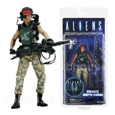PRIVATE JENETTE VASQUEZ figure ALIENS space COLONIAL MARINES neca SERIES 9 2016
