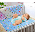 Baby Infant Portable Waterproof Cotton Urine Pad Nappy Diaper Changing Cover Mat