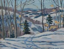 Elisabeth (Betty) Roberta Galbraith-Cornell 1916-2012 Painting Canadian Quebec