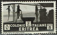 Italian Eritrea Fauna African Fish Sharks stamp 1934 MLH