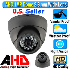 LEXA AHD 1MP 720P CCTV Security Camera Wide 2.8mm Night Vision Weather Outdoor