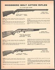 1972 MOSSBERG Model 346-K Rifle and Carbine, 340-K .22 AD