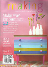 MAKING, BEAUTIFUL CRAFTS FOR YOUR HOME, JUNE, 2012 ( MAKE WAY FOR SUMMER  )