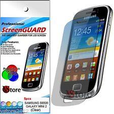 5 Pellicole Per Samsung Galaxy Mini 2 S6500 Proteggi Schermo Display Pellicola