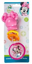 Rattle Baby Children Kids Disney Minnie Mouse Handbells Toy Barebell Infant New