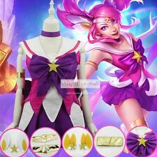 League of Legends LOL Lux the Lady of Luminosity Cosplay dress Halloween party