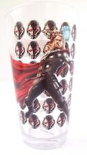 Marvel Avengers Age Of Ultron THOR Boy's Kids Drinking Glass Cup Tumbler NEW