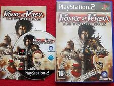 PRINCE OF PERSIA THE TWO THRONES ORIGINAL BLACK LABEL SONY PLAYSTATION 2 PS2 PAL
