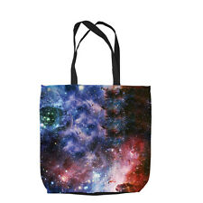GALAXY 2 DESIGN TOTE BAG SHOPPING BEACH SCHOOL ACCESSORY L&S PRINTS GIFT