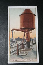 Railway Pillar Water Tank    British 1920's Vintage Card  VGC