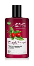 Wrinkle Therapy with CoQ10  & Rosehips Perfecting Toner Avalon Organics 8 oz Liq