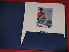 OFFICIAL UNICEF PROOF EDITIONS OF UNITED NATIONS FIRST DAY FLAG ISSUES  1980