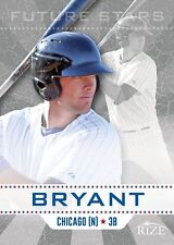 """KRIS BRYANT 2013 LEAF RIZE """"FUTURE STARS"""" ROOKIE CARD! ROOKIE OF THE YEAR!"""