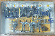 Preiser HO #10220 People Working -- Construction Workers (1:87th Scale)