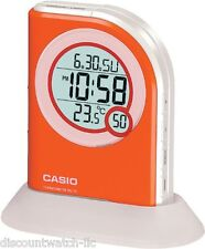 Casio PQ75-4 Multi-Function Digital Thermometer Table Top Alarm Clock LED Light