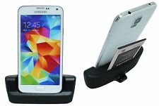 Samsung Galaxy S5 G900F Dock Docking station Ladestation Black + Datenkabel