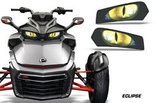 AMR Racing Head Light Eyes For Can-Am Spyder F3 Headlight Decals Part ECLIPSE Y