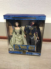 Beautiful Lord of the Rings Arwen and Aragorn Barbie and Ken giftset NRFB