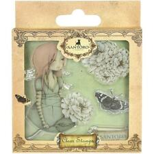 "SANTORO MIRABELLE Cling Mount Stamps ""WAITING"" - WHIMSY - LIMITED SUPPLY"