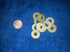 "OK VENDER TOKENS ""LOT OF 10 TOKENS"" Antique Slot Machine TOKEN PENNY SIZE"
