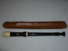 SUZUKI LMI RECORDER SOPRANO JAPAN INSTRUMENT 650502G WOODWIND ZIPPER CASE