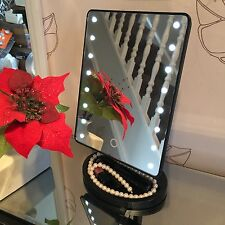 16 LED Light Illuminated mirror Make Up Cosmetic Bathroom Shaving Vanity Mirror