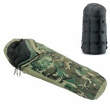 NEW IN BAG 4 Piece Modular Sleep System Goretex Bivy MSS Sleeping Bag USGI