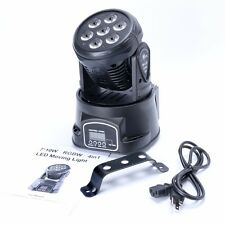 7 x 10W RGBW 4in1 CREE LED Mini Moving Head DJ Stage Party Effect Light-SINGLE