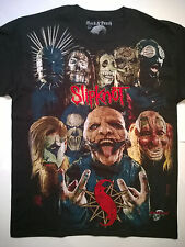 SLIPKNOT Large T-Shirt Embroidered Logo RARE Rob Zombie Rammstein Marilyn Manson