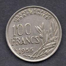 Francia 100 francos 1955 moneda