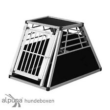 N41 Hundetransportb​ox Hundebox Aluminium Transportbox Alubox Autobox