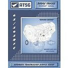 Dodge 45RFE 545RFE ATSG MANUAL Repair Rebuild Book Transmission Guide