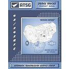 Dodge 45RFE 545RFE ATSG MANUAL Repair Rebuild Book Transmission Guide